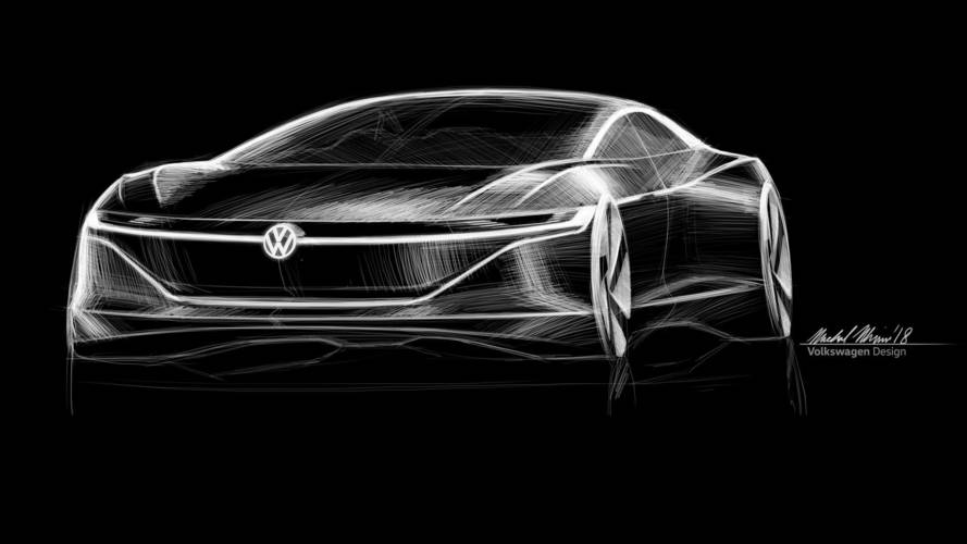 Volkswagen Core Brand Planning Big Electric Sedan To Rival Tesla Model S?