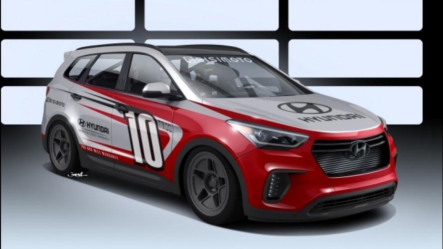 Hyundai Santa Fe, due elaborazioni per il SEMA 2016
