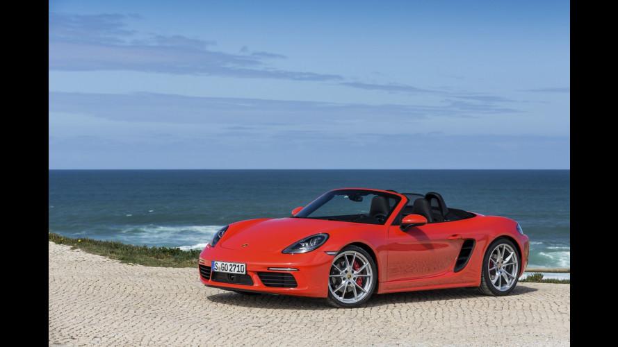 Porsche, il 2017 in Italia è da record