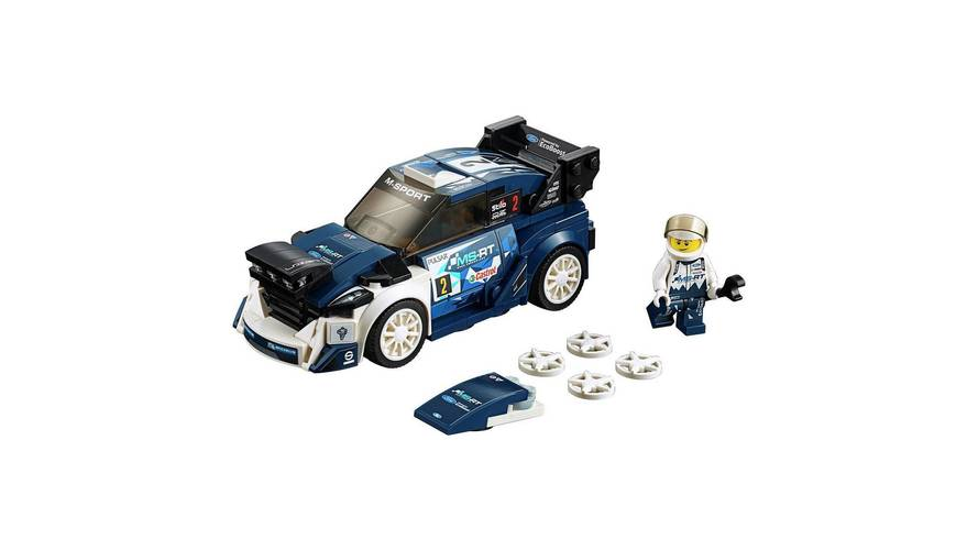 Ford Fiesta WRC Joins Five Other New Lego Speed Champions Sets