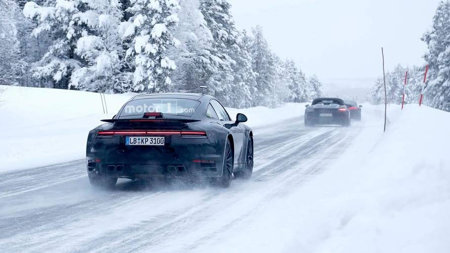 La future Porsche 911 Turbo S développera 650 chevaux