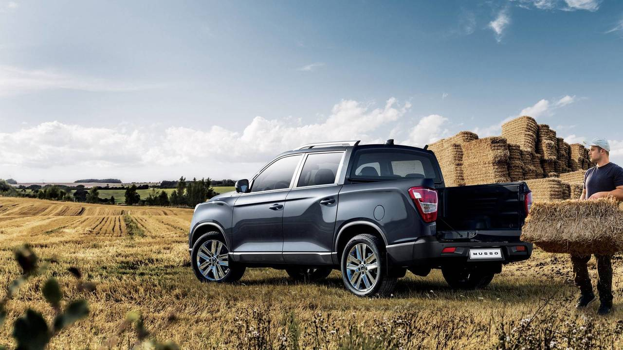 2018 SsangYong Musso Euro Spec