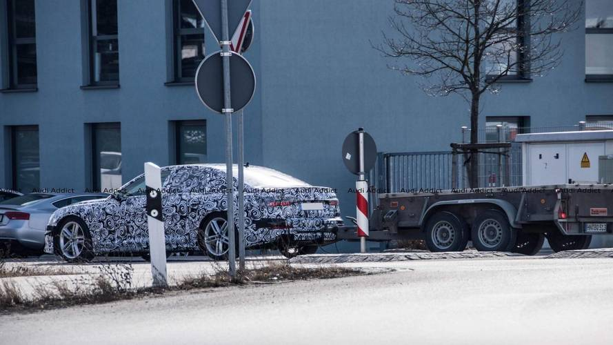 2020 Audi S6 spy photos
