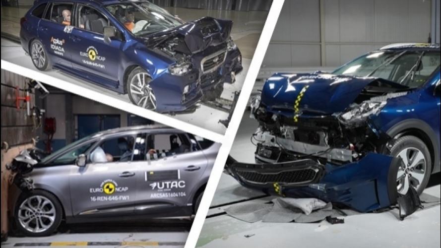 Euro NCAP: i risultati per le nuove Kia Niro e Renault Scenic