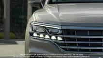 Nuova Volkswagen Touareg, i teaser