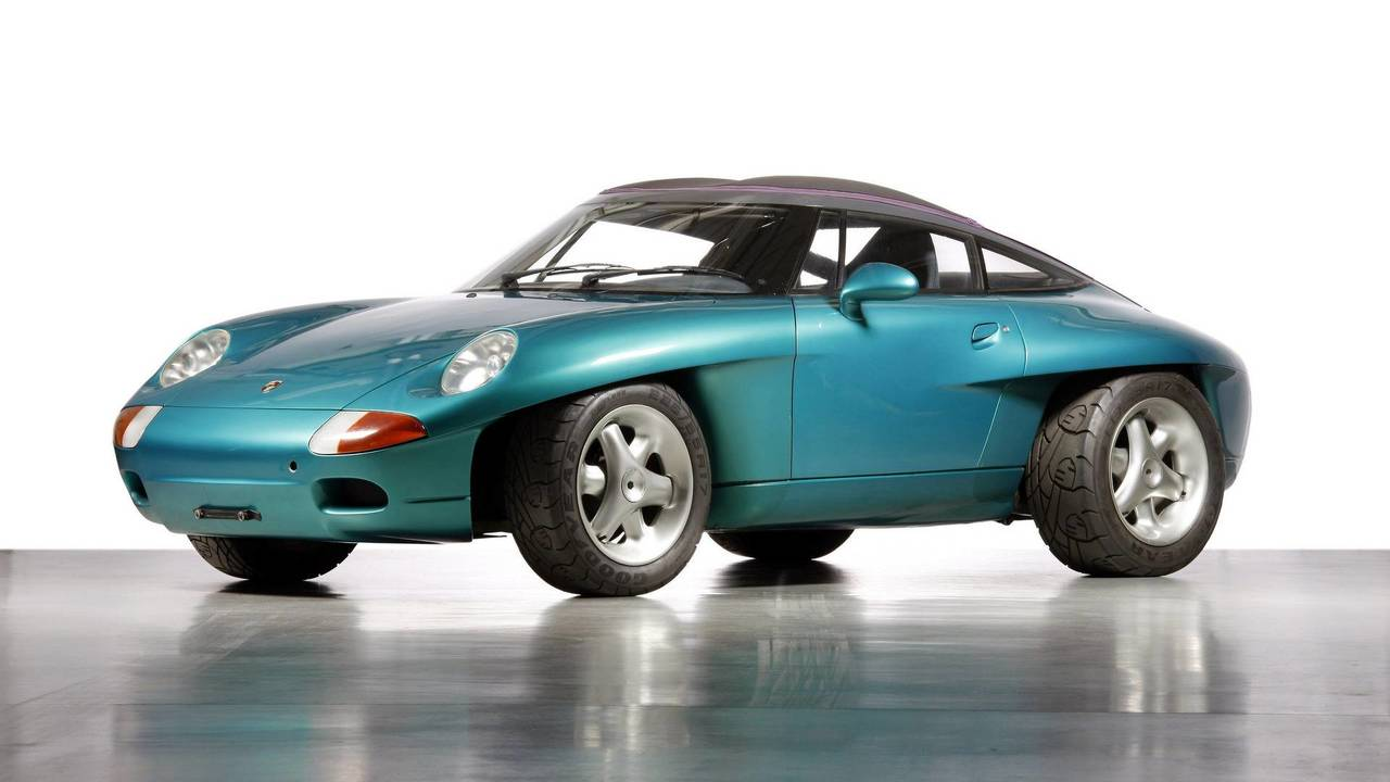 7. 1989 Porsche Panamericana konsepti