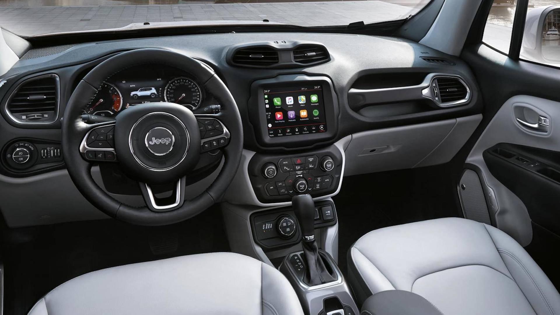 Jeep Renegade 2018, evolución tecnológica
