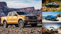 Ford Ranger And Competitors