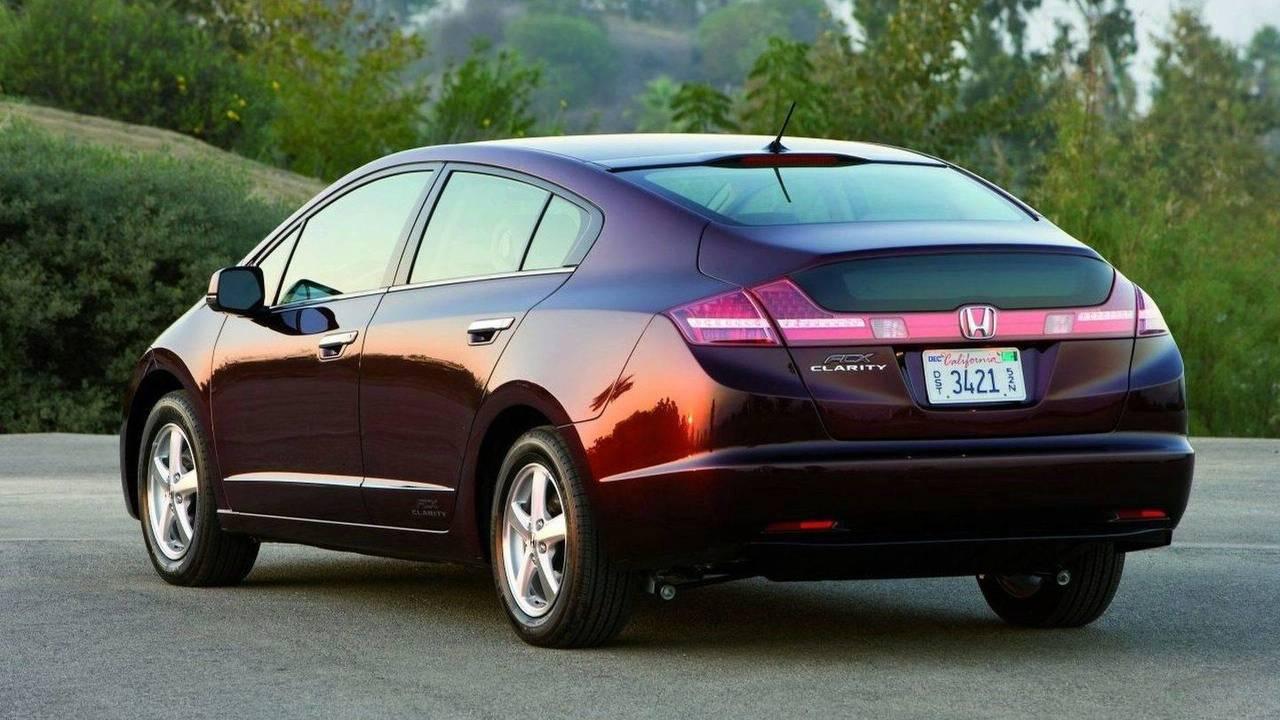 2009 World Green Car: Honda FCX Clarity