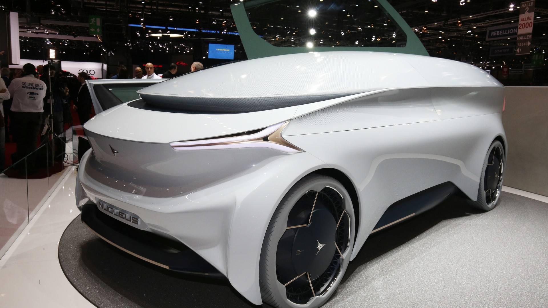 Icona Nucleus Concept Live From Geneva Motor Show - Concept car show