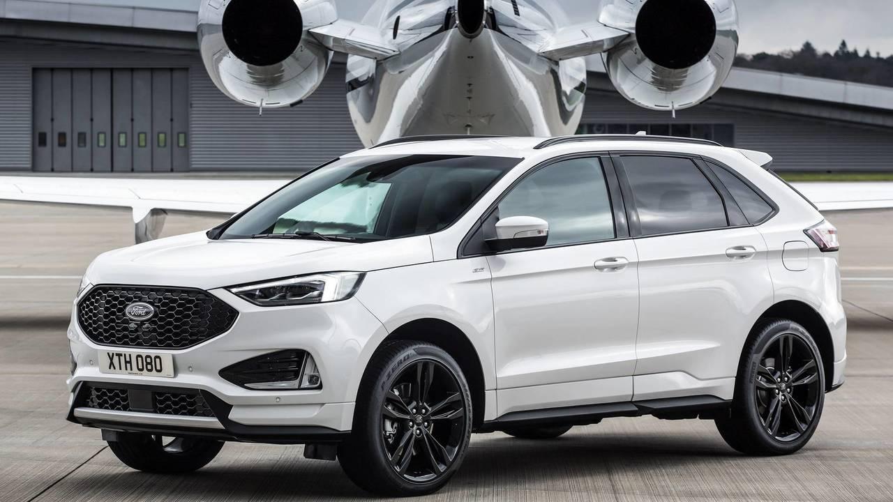 Ford Edge facelift (Euro-spec)