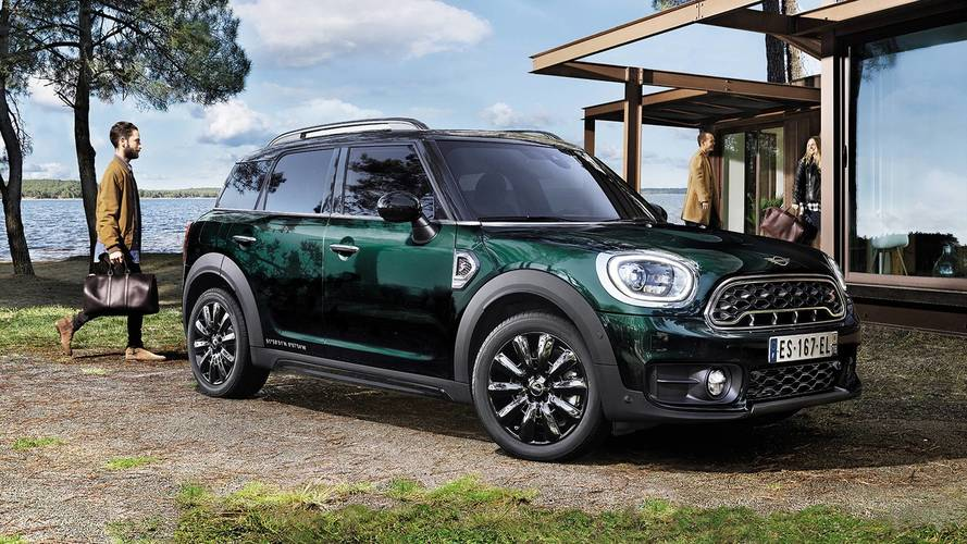 Mini lance le Countryman Edition Oakwood