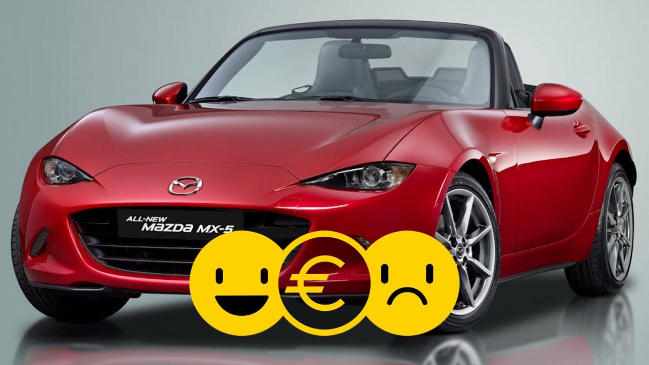 [Copertina] - Promozione Mazda MX-5, perché conviene e perché no