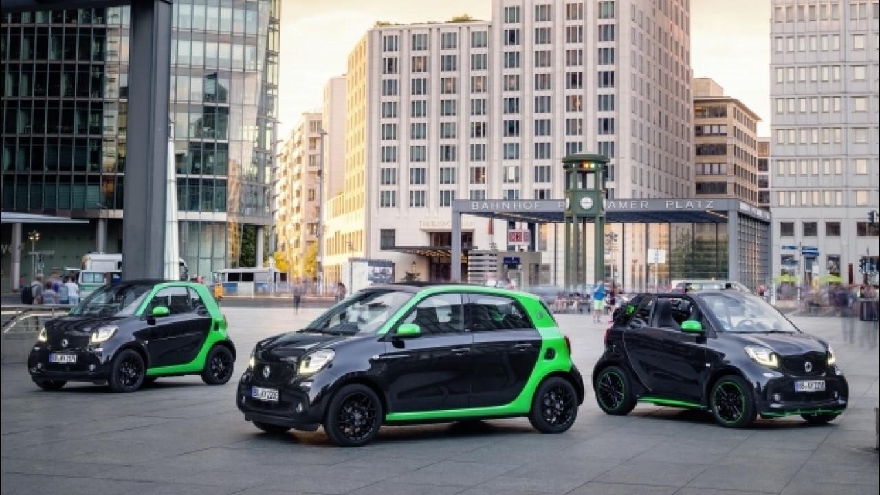 [Copertina] - Nuova smart ED, la gamma ora ha più CV e autonomia