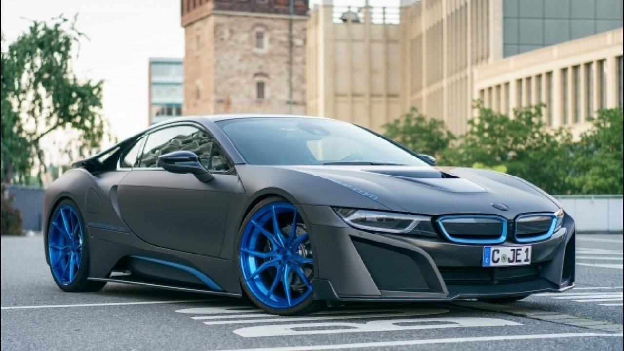 [Copertina] - BMW i8, dalla Germania un tuning per chi la vuole esagerata