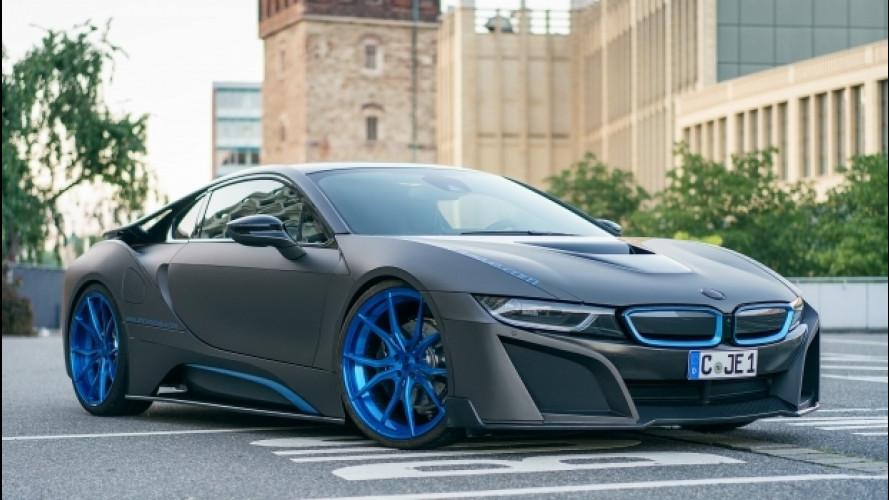 BMW i8, dalla Germania un tuning per chi la vuole esagerata