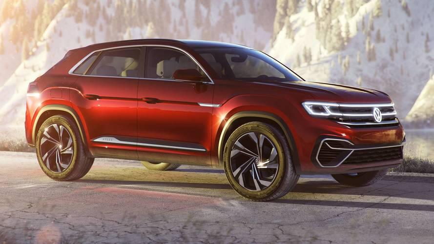 Volkswagen Atlas Cross Sport Concept, il SUV a 5 posti per gli USA