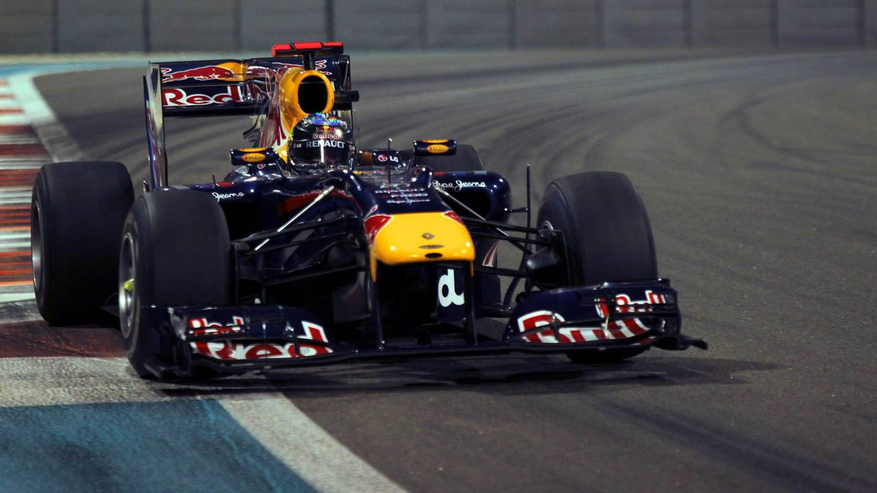 28. El Red Bull Racing RB6 de F1