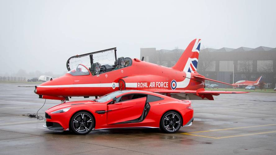 Aston Martin Vanquish S Red10 - L'hommage à la Royal Air Force