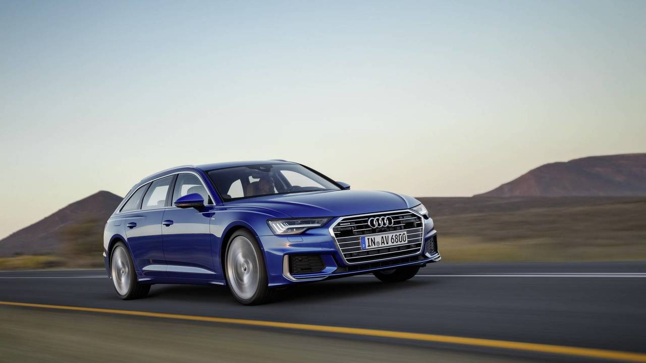 2019 audi a6 avant is a gorgeous wagon loaded with technology. Black Bedroom Furniture Sets. Home Design Ideas