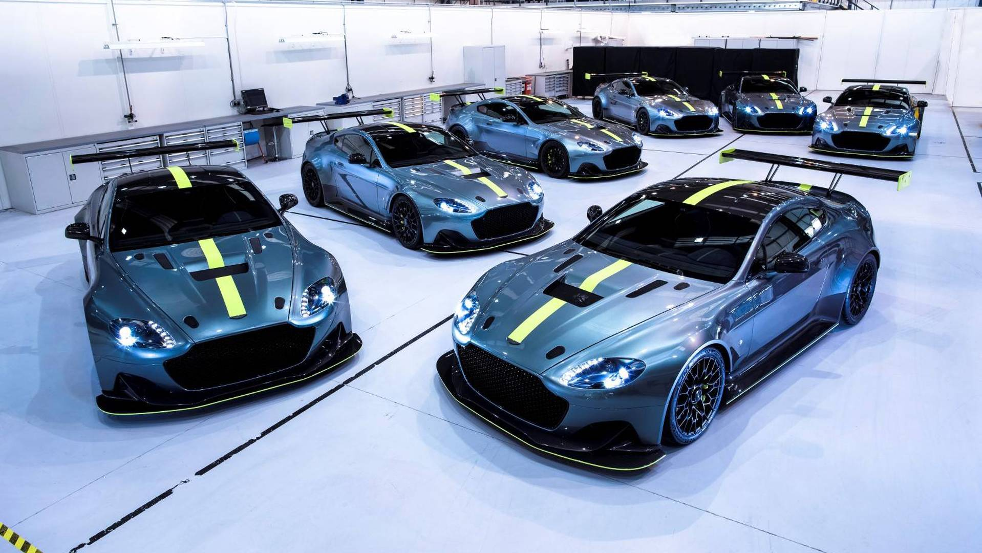 These Seven Unique Vantage Amr Pros Are Aston Martin Paradise