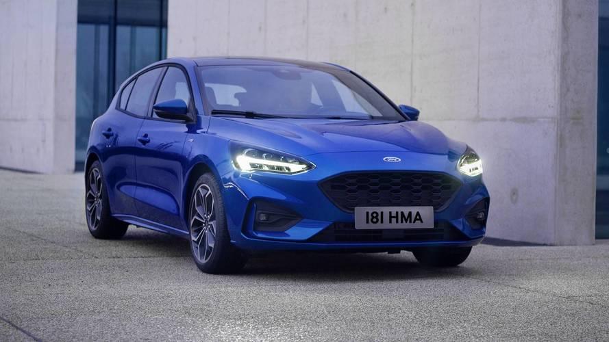 Ford, yeni Focus'un akıllı aydınlatma teknolojisini gösteriyor