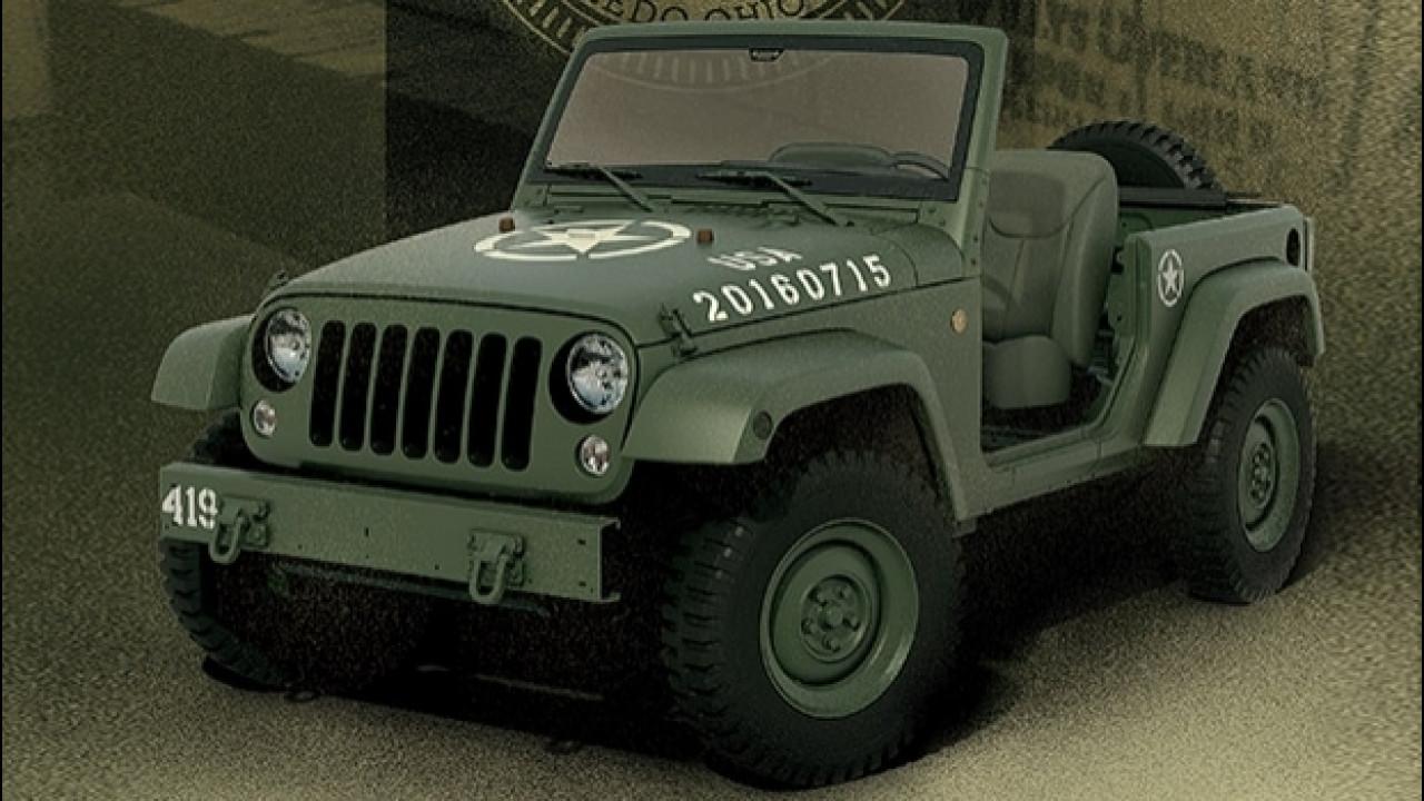 [Copertina] - Jeep Wrangler 75th Salute, tributo alla storia del fuoristrada [VIDEO]