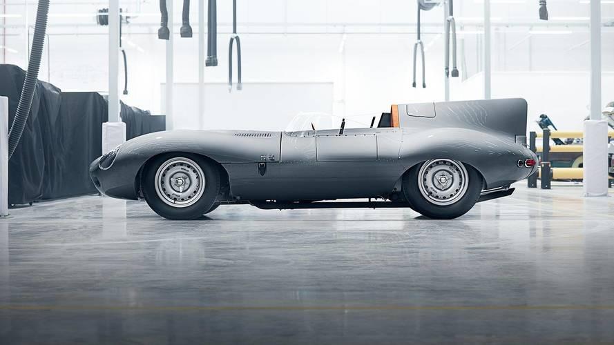 A Jaguar feltámasztja a D-Type versenyautót