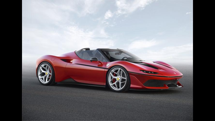 Ferrari J50, roadster per pochi eletti