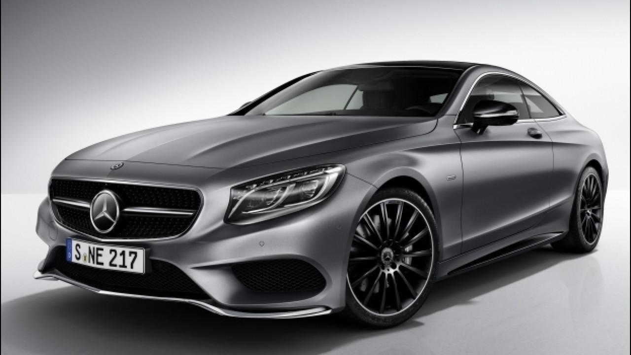 [Copertina] - Mercedes Classe S Coupé Night Edition, quella con