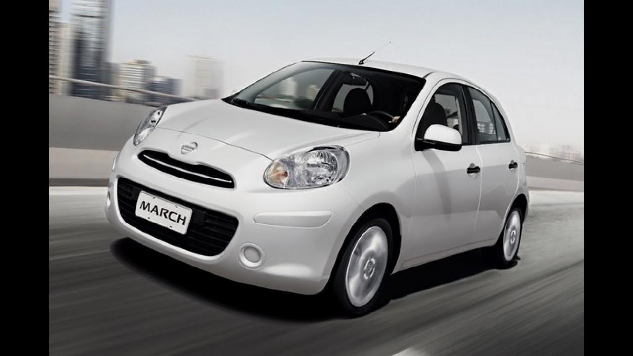 Nissan March fica mais barato e parte de R$ 26.290