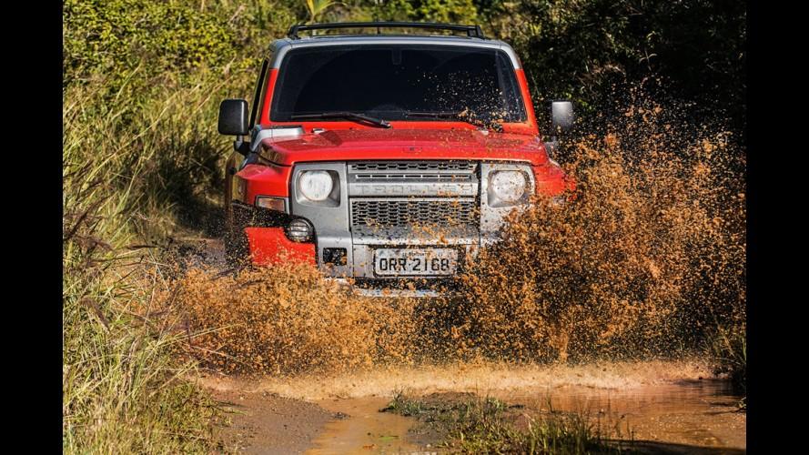 Avaliação off-road: novo Troller T4 é bicho do mato, da areia, da lama...