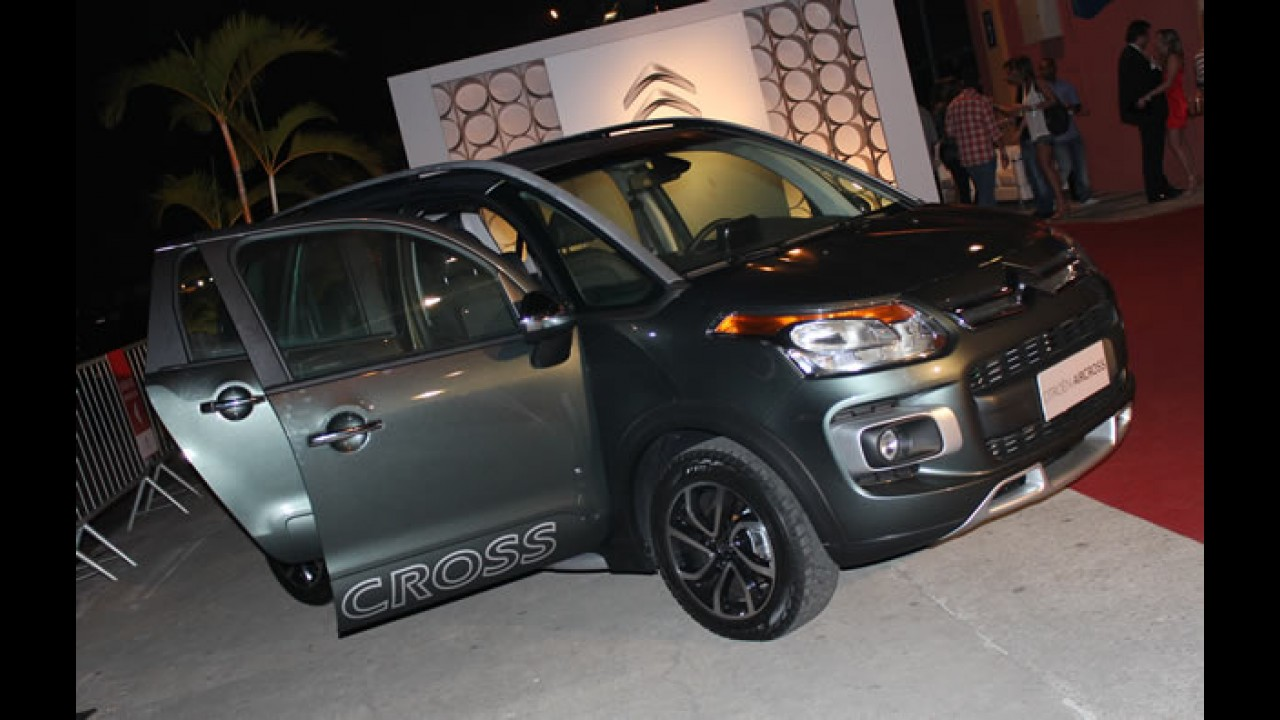 CARPLACE no lançamento do Citroën AirCross
