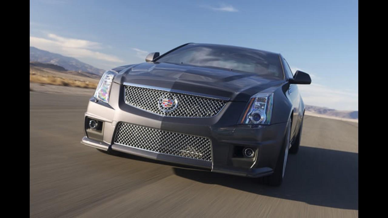 Cadillac CTS V Coupé 2011 - Versão esportiva tem motor V8 de 556 cv de potência!! Veja fotos