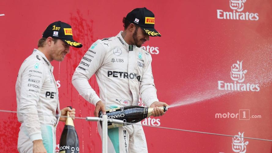 Hamilton would take Rosberg defeat