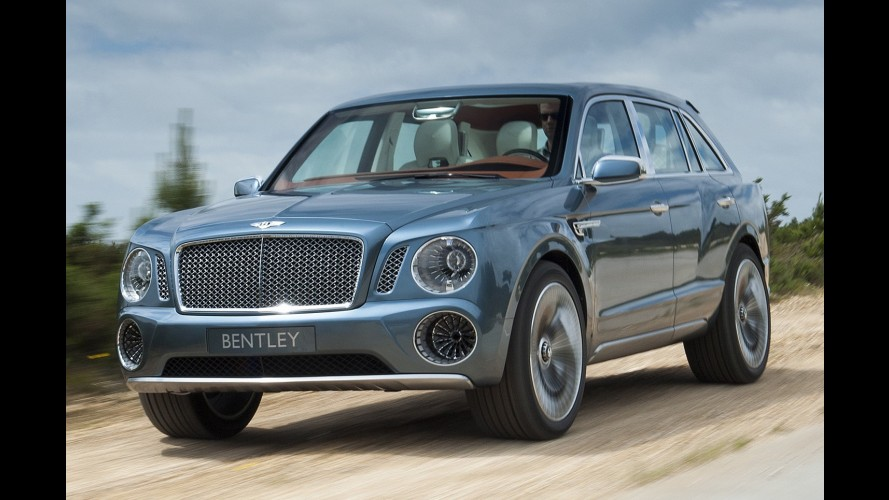 Por US$ 180 mil, SUV da Bentley será o mais caro do mundo