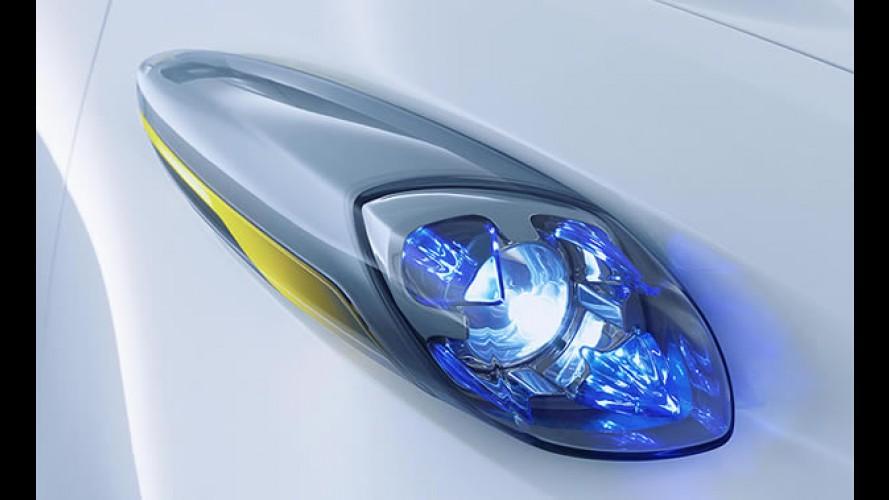 Nissan divulga teaser do elétrico TownPod