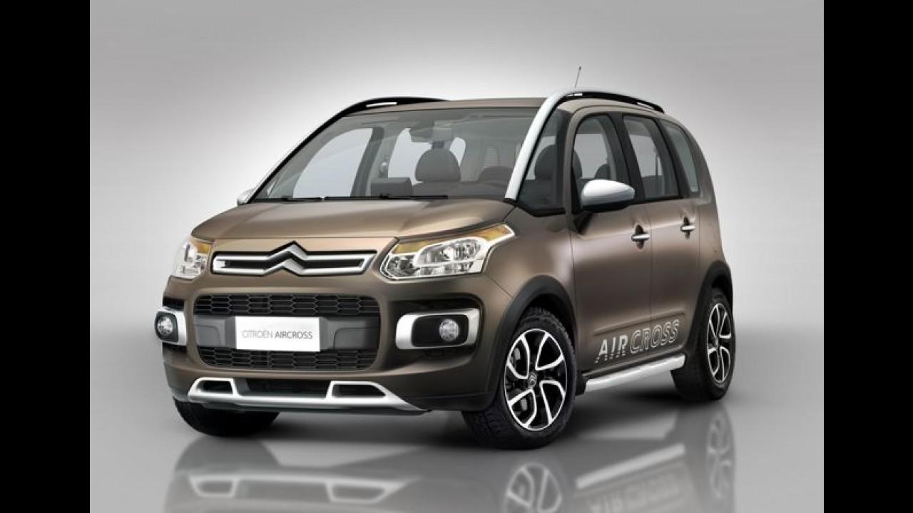 Citroën revela o novo AirCross pelo Twitter - Modelo faz estréia mundial no Brasil