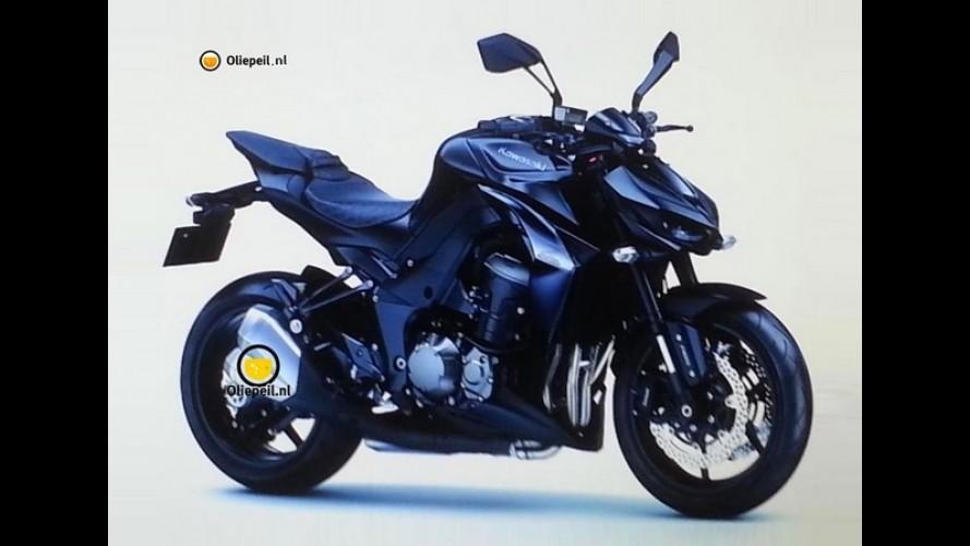 Vazou: Kawasaki Z1000 2014 aparece antes do Salão de Milão