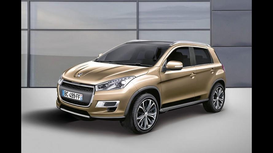 Peugeot pode mostrar o SUV compacto 2008 já no primeiro trimestre de 2012
