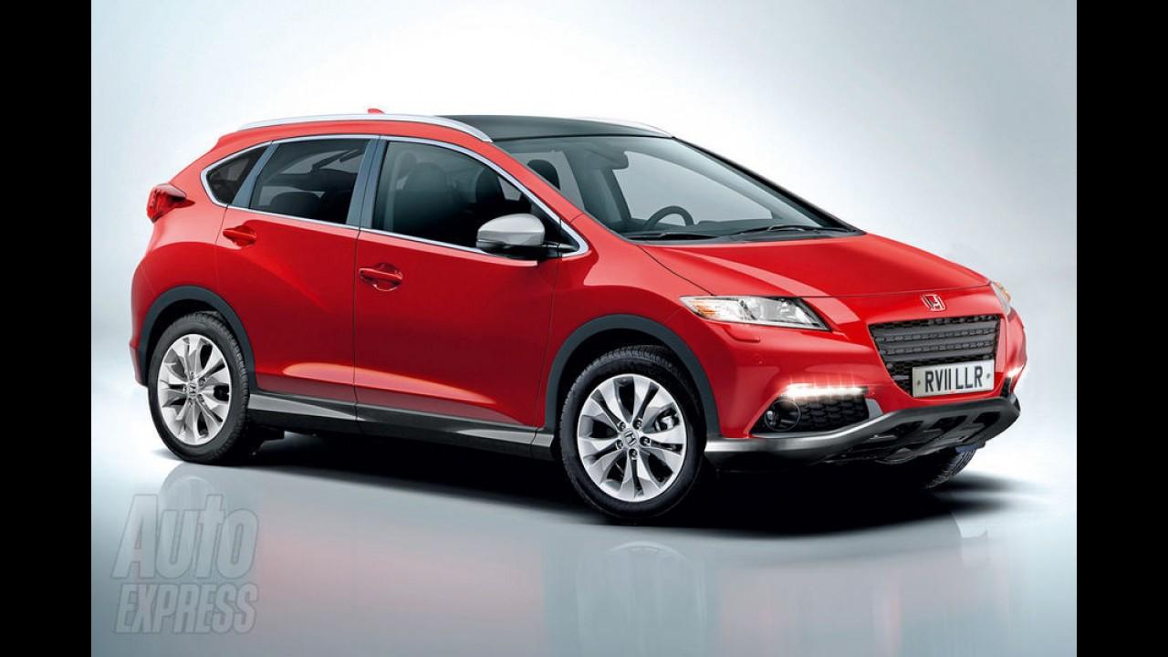 Honda poderá lançar crossover derivado do Civic Hatch no mercado europeu