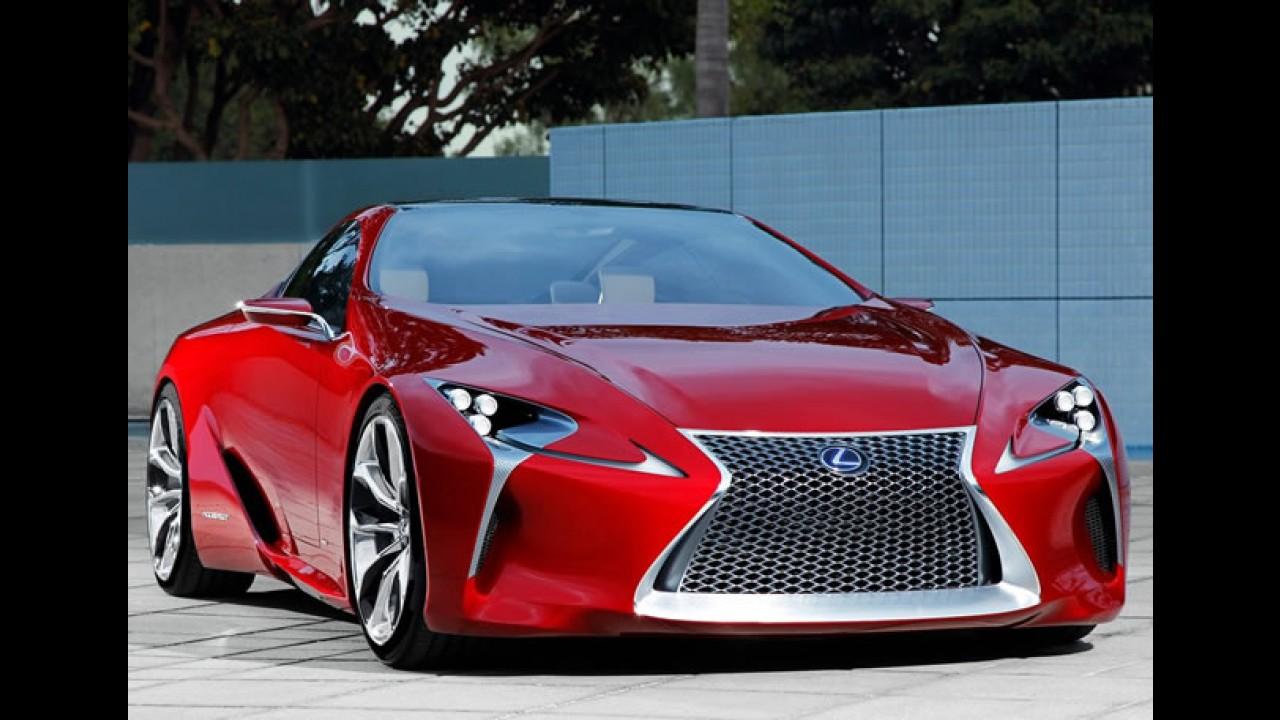 Lexus LF-LC Concept tem imagens reveladas
