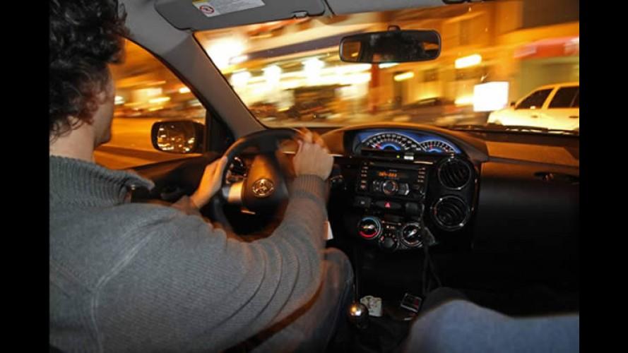 """Segredo: conheça o """"novo"""" painel do Toyota Etios 2014"""