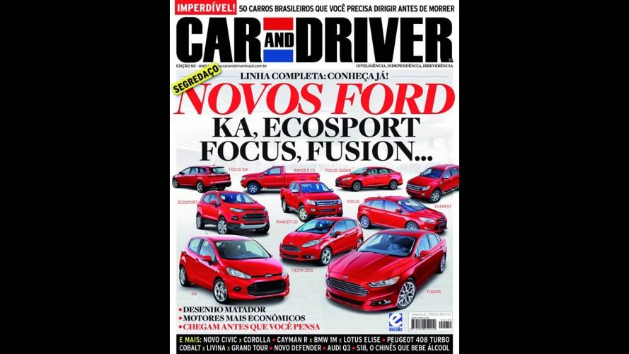 Revista Car and Driver revela Novo KA e o Novo SUV Everest