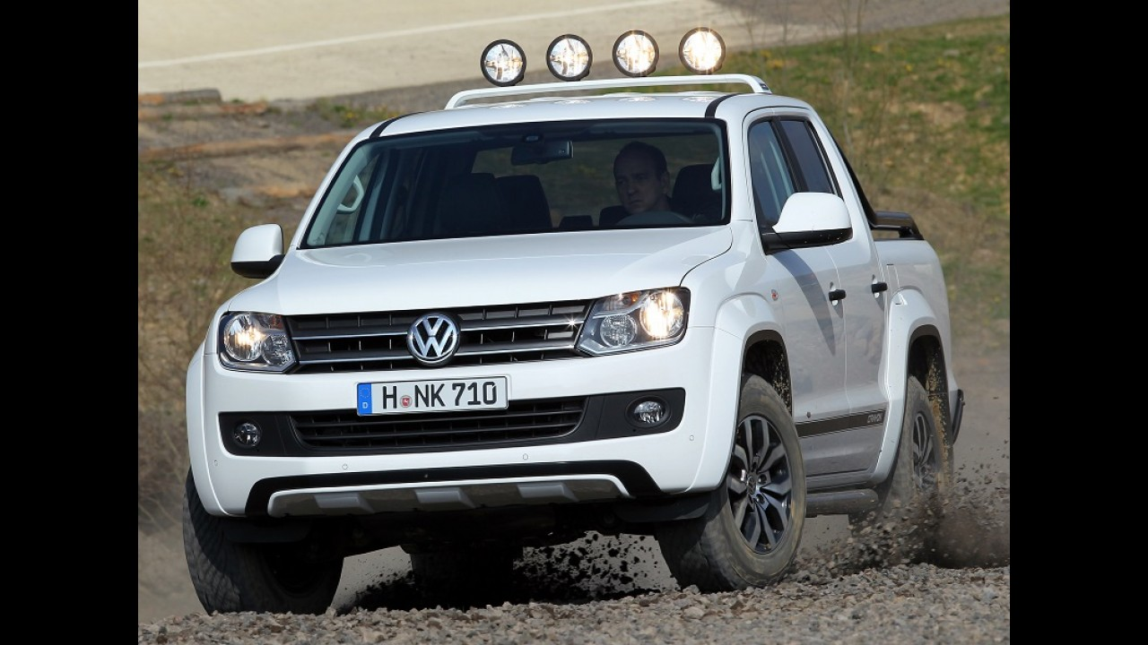 VW considera picape para os EUA, mas diz que Amarok é muito pequena