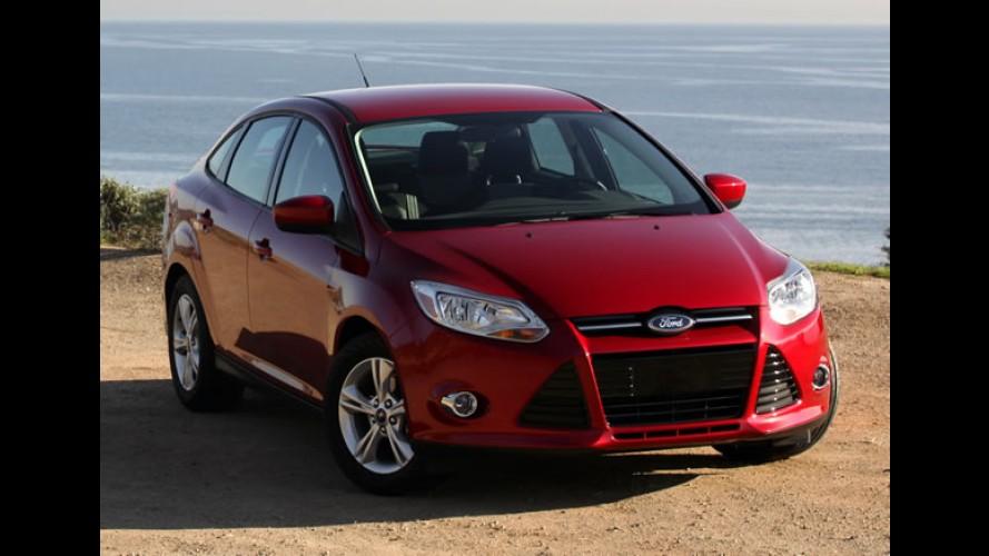 Ford Focus recebe cinco estrelas nos testes de segurança do NHTSA