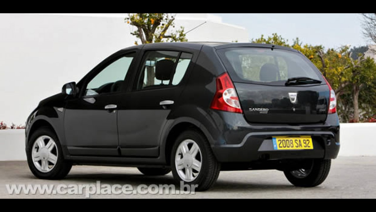 Dacia Sandero é lançado no Marrocos - Modelo já é produzido em oito países