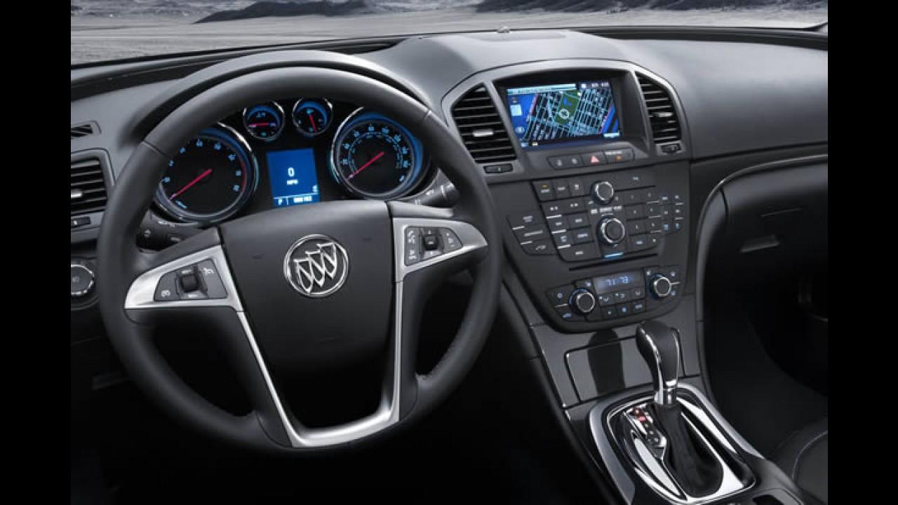 Preço definido: Buick Regal custará o equivalente a R$ 48 mil nos Estados Unidos