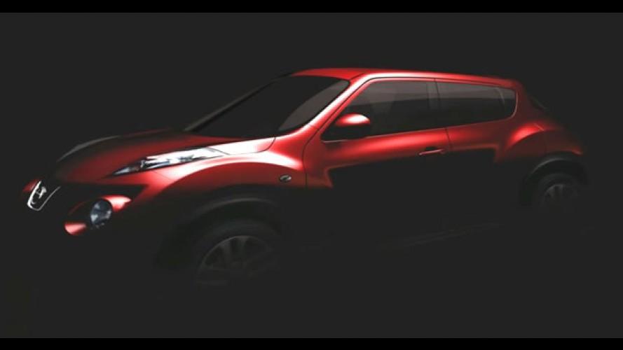 Nissan divulga primeira imagem e nome do seu novo crossover compacto: Juke