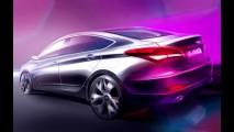 Hyundai divulga imagem do i40 sedã - Um Sonata